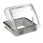 OBLÒ DOMETIC MICRO HEKI 28X28 CON BARRA  - CAMPER - DOMETIC - 9104117680